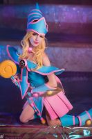 Dark Magician Girl - Magic Fountain by MeganCoffey