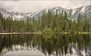 Smreczynski Pond, Tatry Mountains, Poland by EmiliaMariaMagdalena