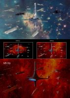 Mass Effect Citadel Fleet WIP by droot1986
