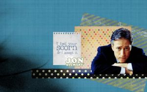 Jon Stewart Wallpaper by karlarei2003