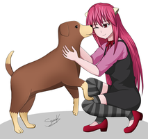 Lucy's friend by Suna004