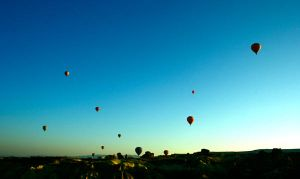 balloons in cappadocia by mysteriouswitch