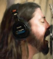 Dave Grohl - WIP by NielsTieman