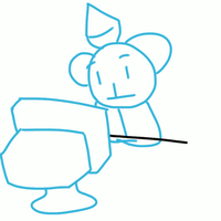 [GIF Commission] Toshi used TABLEFLIP + OUTRAGE by ApplemintArts