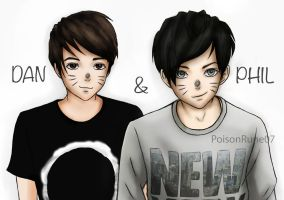 Dan and Phil by PoisonRune07