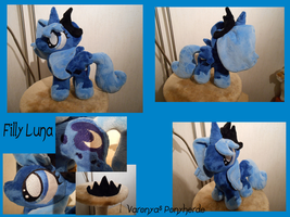 Filly Luna Plushie by Varonya