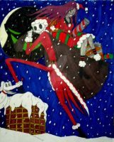 Merry Haunting Christmas and a Chilling New Year by InkArtWriter