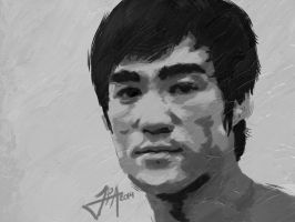 Bruce Lee by ludy83