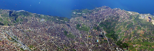 Istanbul from above by Gamekiller48