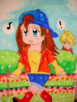 harvest moon: chelsea and mark by okurah