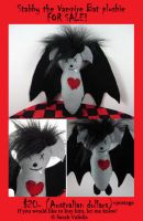 Stabby the Vampire Bat 4sale by BS-designs