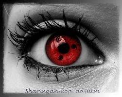 Realistick Sharingan's -7th- by Maryanne007