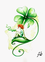 Irish Fairy by giulal