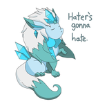 Mega glaceon-Hater's Gonna Hate by Squeeblez