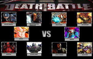 Death Battle 5 vs 5 Meme by WOLFBLADE111