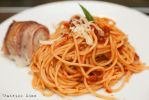 bacon codfish spaghetti by patchow