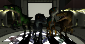 MMD Newcomer The Raptor Squad + DL by Valforwing