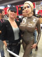 Seven of Nine at montreal Comiccon! by Ariane-Saint-Amour