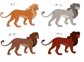 Point Adoptables (ALL TAKEN) by Demi-Dee96