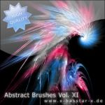 Abstract Brushes vol. 11 - 5x by basstar