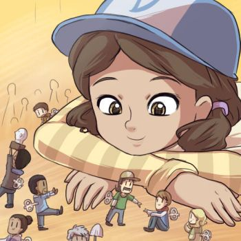WD: Clem and her dolls by keterok