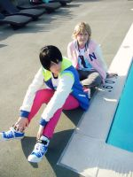 Free! - Haruka and Nagisa by caturdaysurprise