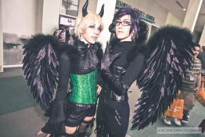 Demons ~ Claude and Alois by OurLivingLegacy
