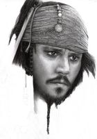 Capt Jack Sparrow WIP 5 by D17rulez