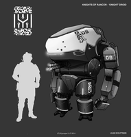 Takamo Universe: KOF Knight Droid by FutureFavorite