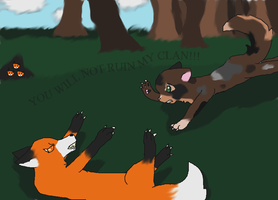 Attack the Fox! by GiggleKittyx3
