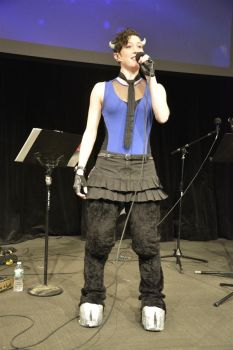Brass Knuckles Cosplay Ponycon NYC 2015 by RiftwingDesigns