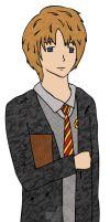 YOUNG REMUS LUPIN by CHRISwillar