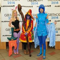 LoL cosplay group by Tacuko