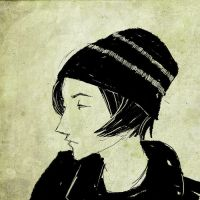 Girl With Hat by applebees