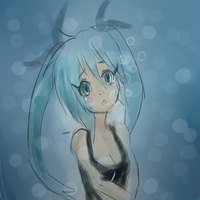 deep sea girl by AlmightyYing