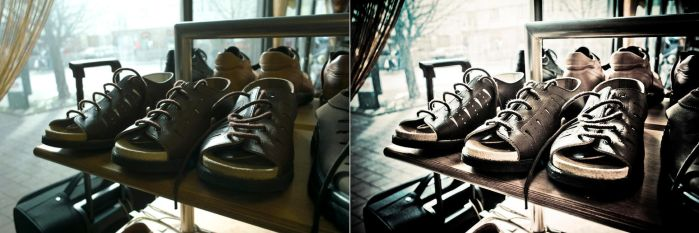 Photo-manipulation: Shoes by variant73