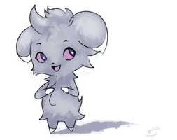 Happy Espurr by NightsJester
