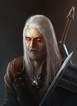 Geralt - The Witcher by UMTA