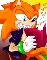What's he reading? by SonicForTheWin2