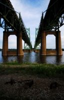 I-74 Bridge by In-7hi5-7wi1igh7