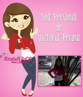 Doll personal de Victoria Pecina by RoohEditions