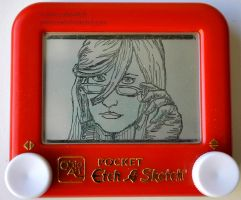 Grell etch a sketch by pikajane