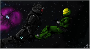 Spartans in Space by Ramrum