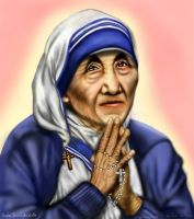 madre teresa de calcuta by kittychiii