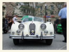 1957 Jaguar XK 140 MC by yankeedog