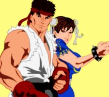 Ryu x ChunLi by Shadow-Harvest