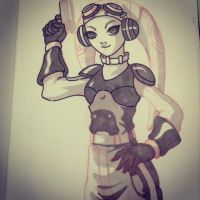 WIP Hera by redeve