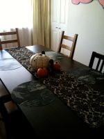 My halloween table by alteredboxes