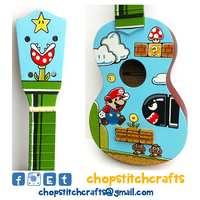 Super Mario Ukulele by Chopstitch
