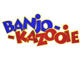 Banjo Kazooie logo 3D render by Dreams-N-Nightmares